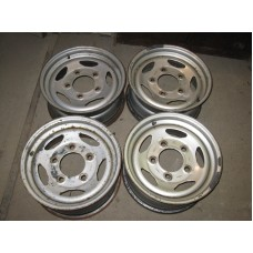 "Steel wheels 7J ""x 16"" - used"